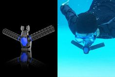 Triton Artificial Gills Re-breather For Breathing & Swimming Underwater Like Aquaman -  #aquaman #swimming