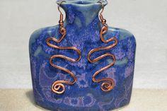 Copper earrings boho jewelry copper by MontanaAnniesJewelry