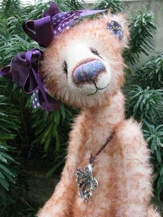 Jemima Jaffacake by Dusty Attic Bears & Hurbie Longtinks by Dusty Attic Bears Oh - he needs to come live at ...