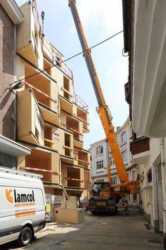 6-storey CLT-Building