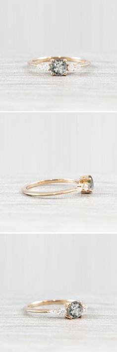 Unique Engagement Ring || Alternative Engagement Ring || #engaged #engagementring