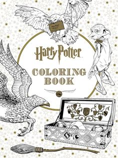 Harry Potter Coloring Book | 22 Coloring Books That Will Calm You The Heck Down