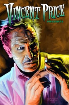 Creepy vincent, vincent-price-house-of-wax. So in love with this man!