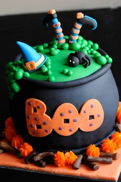 Witches brew cake. Perfect for Halloween