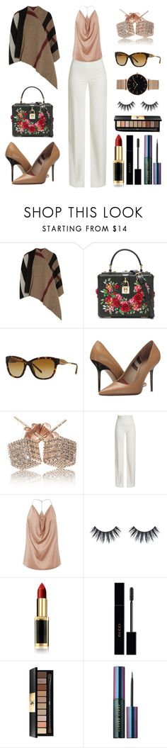 """Money On My Mind"" by massielcristina on Polyvore featuring moda, Burberry, Dolce&Gabbana, Loushelou, Brandon Maxwell, L'Oréal Paris, Gucci, Yves Saint Laurent, Puma y CLUSE"