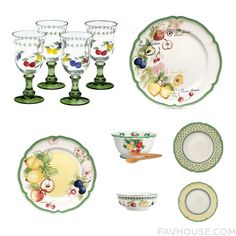 Home Selection Featuring Villeroy & Boch Drinkware, French Dinnerware, Villeroy & Boch Dinnerware And Villeroy Boch Dinnerware From April 2016