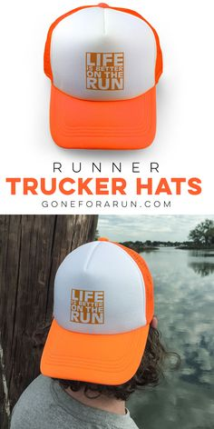 Live life on the run! Our trucker hats come in a variety of colors and styles that any runner would love!
