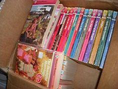 40 vintage Harlequin Romance pbs (1987-1995) (02/21/2013)