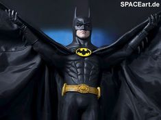 Batman 1: Batman (Michael Keaton), Voll bewegliche Deluxe-Figur ... http://spaceart.de/produkte/bm006.php
