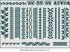 Free Easy Cross, Pattern Maker, PCStitch Charts + Free Historic Old Pattern Books Crochet Bookmarks, Cross Stitch Bookmarks, Cross Stitch Charts, Cross Stitch Designs, Cross Stitch Boarders, Cross Stitching, Cross Stitch Embroidery, Embroidery Patterns, Loom Patterns