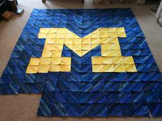 University Of Michigan Quilt Posted To Webshots By