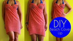 DIY Summer Clothes | DIY Beach Cover Up | Sewing For Beginners