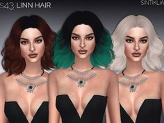 Sims 4 CC's - The Best: Hair by Sintiklia