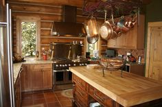 Love the stove, the cabinets - LOVE it all!