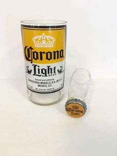A personal favorite from my Etsy shop https://www.etsy.com/listing/460558584/upcycled-beer-bottle-shot-glass-chaser