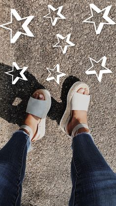 Footwear White platform espadrilles/ summer time shoe pattern 6 Steps to Tremendous Glossy Trendy Ha Summer Shoes, Summer Outfits, Cute Outfits, Casual Outfits, Summer Sandals, Cute Shoes, Me Too Shoes, Sock Shoes, Espadrilles