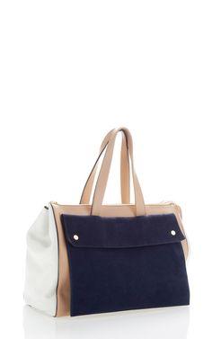 Macaroon And Blue City Handbag by Marni for Preorder on Moda Operandi