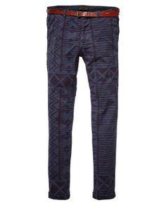 Basic Slim Fit Chino Pants > Mens Clothing > Pants at Scotch & Soda