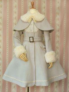 Victorian maiden coat