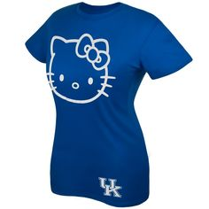 UK Hello Kitty Shirt, my favorite game day shirt to wear! Go Cats!