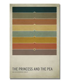Take a look at this 'The Princess and the Pea' Canvas Art by Christian Jackson on #zulily today!