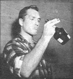Rare photo of Jack Kerouac, late 1950s.