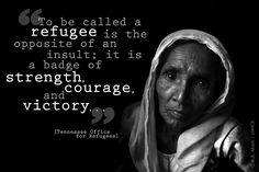 Bangladesh / Rohingya refugees from Myanmar / A grandmother and her granddaughter. Teknaf Cox's Bazaar District / UNHCR / G. Refugee Quotes, Refugee Stories, Refugee Rights, Refugees And Asylum Seekers, World Refugee Day, 2017 Quotes, Refugee Crisis, Syrian Refugees, Wish Quotes