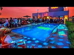 Hotel Andaz Pool Party, West Hollywood - YouTube