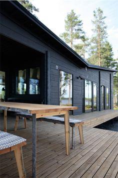 Modern Summerhouse in Finland via Minttumaari