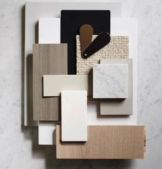 Interior design mood board - House Tour Mixing Scandinavian Style and Pastels in a Kiev Apartment – Interior design mood board Interior Design Boards, Home Interior, Luxury Interior, Apartment Interior, Moodboard Interior, Material Board, Mood And Tone, Concept Board, Colour Board