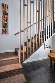Simple but effective railing.