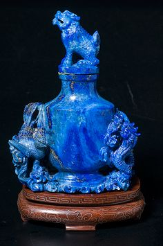 Chinese Lapis Lazuli Vase (8/26/2011 - Asian Decorative Arts)