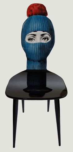 """""""Fornasetti found her face in a 19th-century magazine,500 variations of the face later........."""", pinned by Ton van der Veer"""
