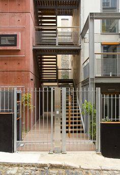 Habitação social em Paris (Foto: Arnaud Rinuccini/Divulgação)