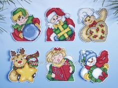 Holiday Gifts  http://www.sewandso.co.uk/Products/Holiday-Gifts-Ornaments-Cross-Stitch-Kit__DES-1679.aspx