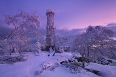 """Winter tower before sunrise - <a href=""""http://www.danielrericha.cz"""">www.danielrericha.cz </a> <a href=""""https://www.instagram.com/danielrerichacz"""">I N S T A G R A M</a> 