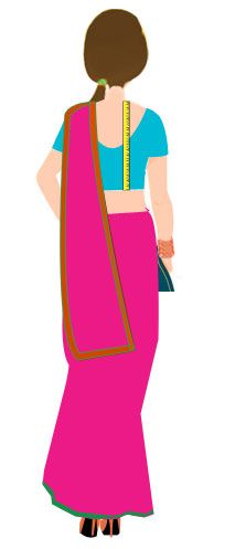 Saree Blouse Measurement Guide: Learn How to Measure Saree Blouse