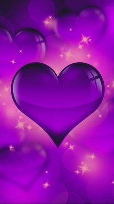 Wallpaper… By Artist Unknown… - Backgrounds Love Wallpaper Backgrounds, Heart Iphone Wallpaper, Cute Love Wallpapers, Flower Phone Wallpaper, Purple Wallpaper, Cellphone Wallpaper, Galaxy Wallpaper, Love Heart Images, Heart Pictures