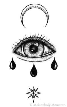 Drawing Ink Illustration Eyes 47 Ideas For 2019 Satan Drawing, Moon Drawing, Occult Tattoo, Occult Art, Illustration Pen And Ink, Ink Illustrations, Blackwork, Art Sketches, Art Drawings