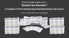 [Extraordinary Best Super PLR] Email List Secrets Done for You PLR Package Review - Best Done for You PLR Package in Email Marketing Complete with Ebook Guide, Sales letter, Thank You Page, Lead Magnet, Opt-in Page eCover, Article, Banner, and More