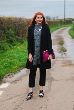 Silver and Black Christmas Party Layered Look | La Redoute Ambassador Post