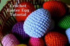 The Pink Woobie | Crochet Easter Egg Tutorial
