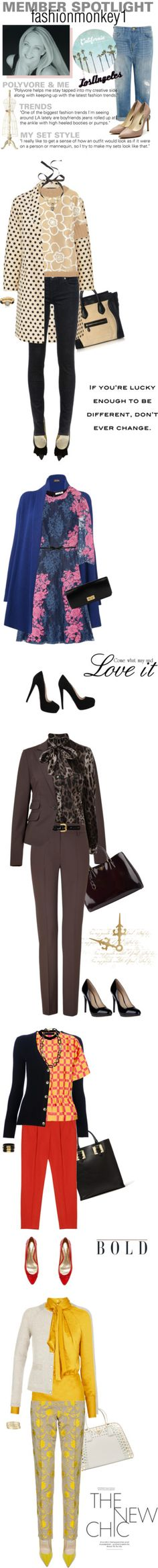 """Member Spotlight: Fashionmonkey1"" by polyvore on Polyvore"
