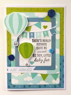 Kaisercraft : Little One Collection : Baby Card by Amanda Baldwin