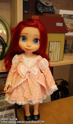 (디즈니 베이비돌 옷) 26. 분홍색 러브리 토끼 원피스 : 네이버 블로그