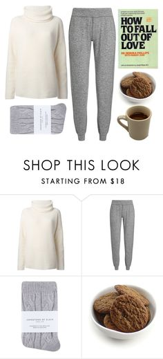 """""""Heartbroken"""" by slufsa ❤ liked on Polyvore featuring She's So, Theory, Sweaty Betty, Johnstons, Torn Ranch, relax, coffee, chill and heartbreak"""