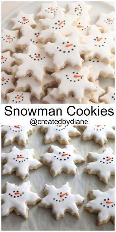 288 Best Snowman Cookies Images In 2019 Snowman Cookies Christmas