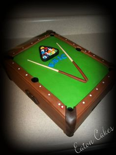 Pool Table Cakes for Men - Bing Images