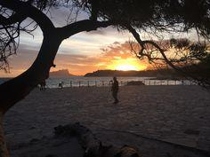 January Sunset Over Moraira