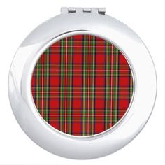 Clan Stewart Tartan Vanity Mirror